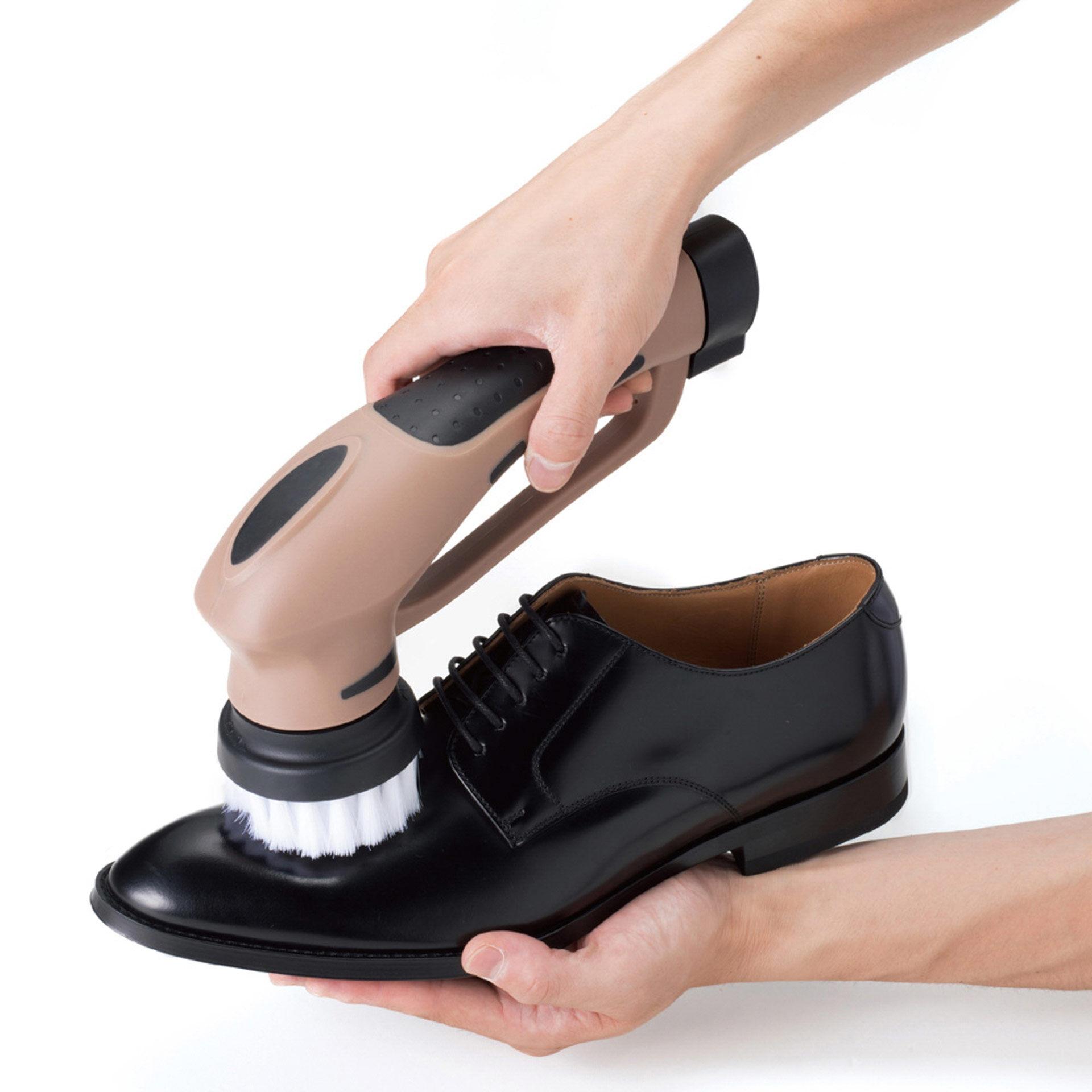 Kit de nettoyage de chaussures à piles, , large