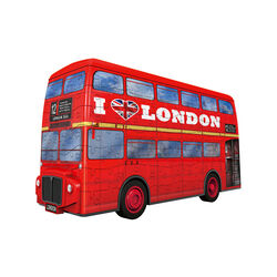 Ravensburger Puzzle 3D - London bus, , large