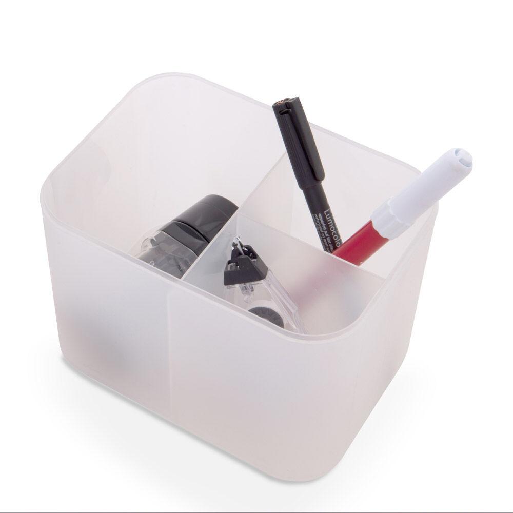 Boîte de rangement avec séparateurs internes CM 15, , large