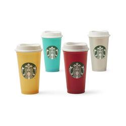 4 Reusable Cup Set, , large