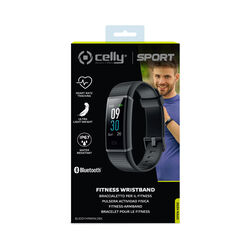 Smart watch con display LCD da 0.96'' single-touch, colore nero, , large