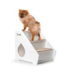 Scaletta con cuccia per cani di piccola taglia, , large