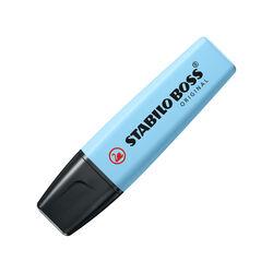Evidenziatore STABILO BOSS ORIGINAL Pastel Pack da 1 Azzurro Cielo, , large