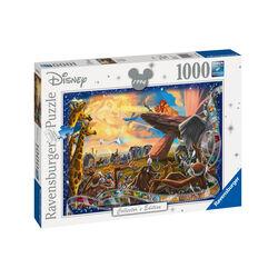 Ravensburger Puzzle 1000 pezzi 19747 - Disney Classic Il Re Leone, , large