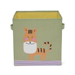 Scatola porta giochi - tigre, , large