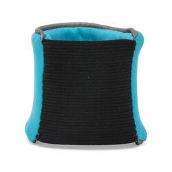 Polsiera portaoggetti azzurra, azzurro, large