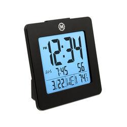 Sveglia con doppio allarme, data e temperatura, , large