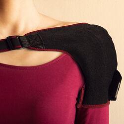 Fascia riscaldante ricaricabile per spalla, , large
