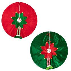 Tappeto per albero di Natale Elfo, , large
