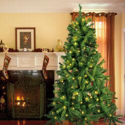 Albero di Natale con 190 luci incorporate, , large