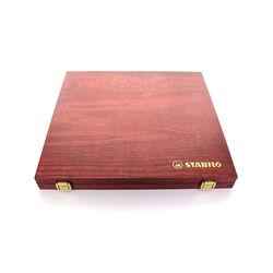Matita colorata Premium - STABILO CarbOthello - Cassetta in Legno richiudibile, , large