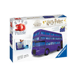 Ravensburger Puzzle 3D - London bus, Harry Potter, , large