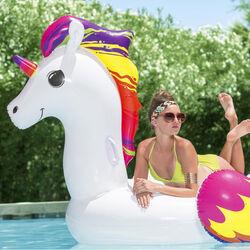 Gonfiabile gigante unicorno, , large