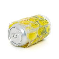 Porta lattina refrigerante giallo, giallo, large