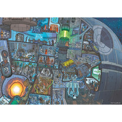 Ravensburger Puzzle 1000 pezzi - WHERE'S WOOKIE, , large