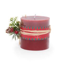 Candela natalizia profumata - Misura piccola, , large