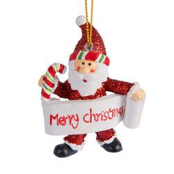 Set 3 decorazioni per albero di Natale, , large