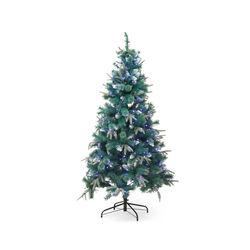 Albero di Natale artificiale 180 cm con luci, , large