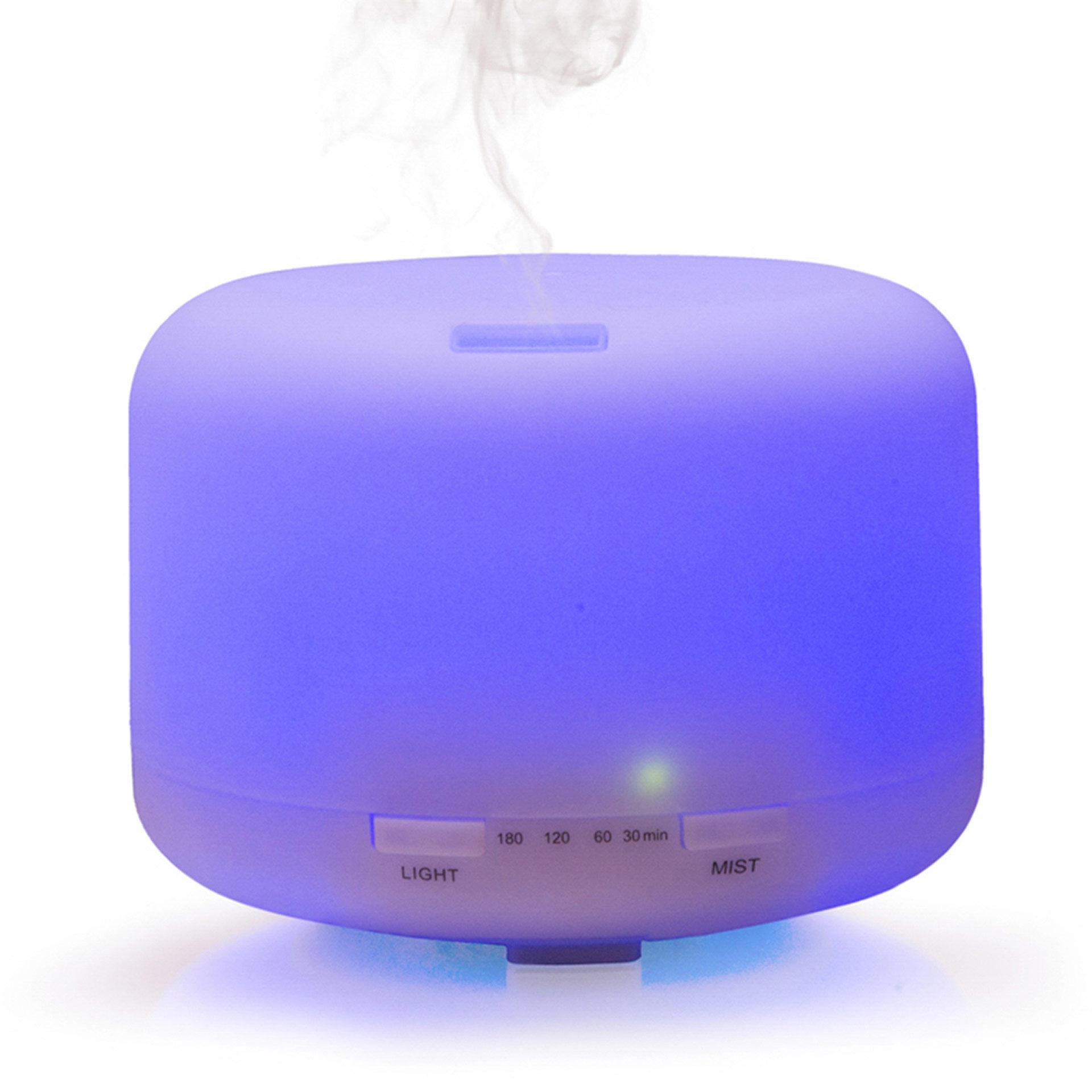 Diffuseur d'arôme avec lumière changeant de couleur, , large