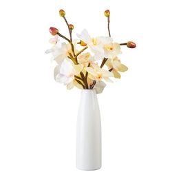 Vaso con orchidee illuminate a led, , large