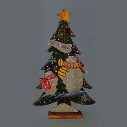 Albero natalizio con lucine, , large