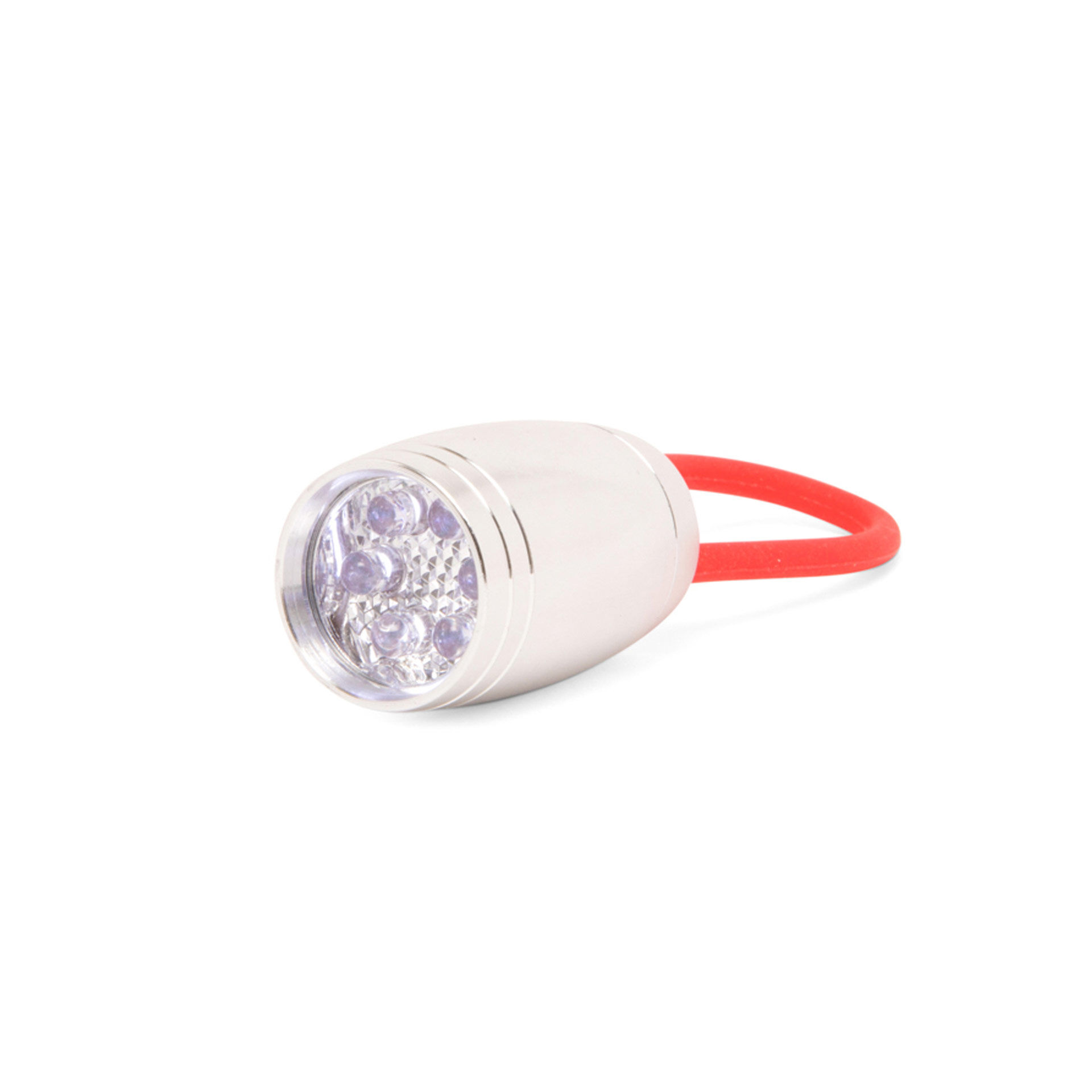 Mini torche multifonction 6 LED - rouge, , large