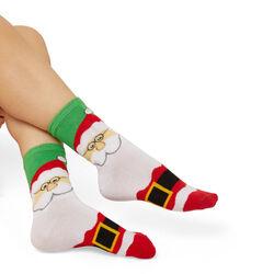 Calzini natalizi con LED, Babbo Natale, , large