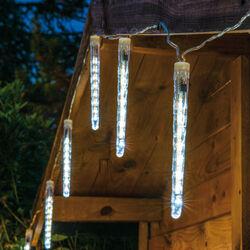 Ghiacciolini luminosi da esterno, , large