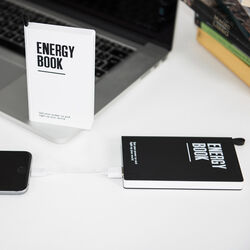Power bank portatile 8000 mAh, - Energy Book, , large