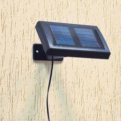 Lampada a 9 LED con pannello solare, , large