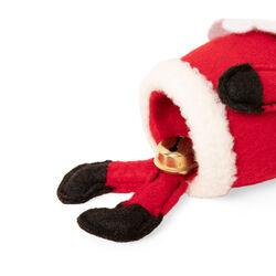 Decorazione da appendere con sonaglio - Babbo Natale, , large