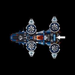 Helicarrier degli Avengers 76153, , large