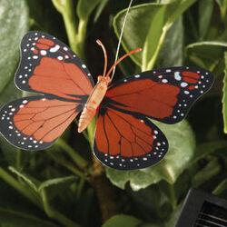 Set  2 Farfalle volanti solari, , large
