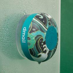 Speaker Bluetooth da doccia - fantasia verde acqua, , large