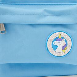 Zainetto unicorno per bambini - azzurro, azzurro, large