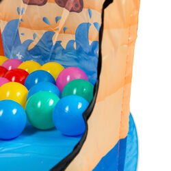 Box gioco pop up per bambini con 70 palline incluse, , large