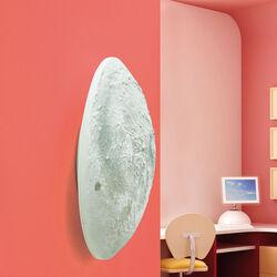 Punto luce a forma di luna con telecomando, , large