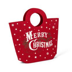Borsa natalizia in feltro, , large