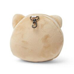 Cuscino da viaggio con maschera per dormire -  Cane shiba, , large