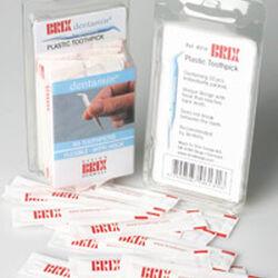 Stuzzicadenti di plastica - 100 pz, , large