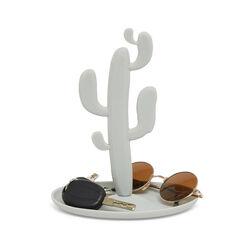 Svuotatasche a forma di cactus colore grigio, grigio, large