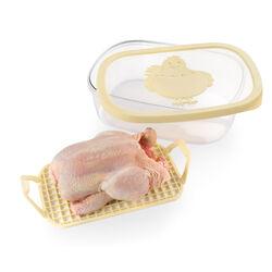 Contenitore salvafreschezza per pollo, , large
