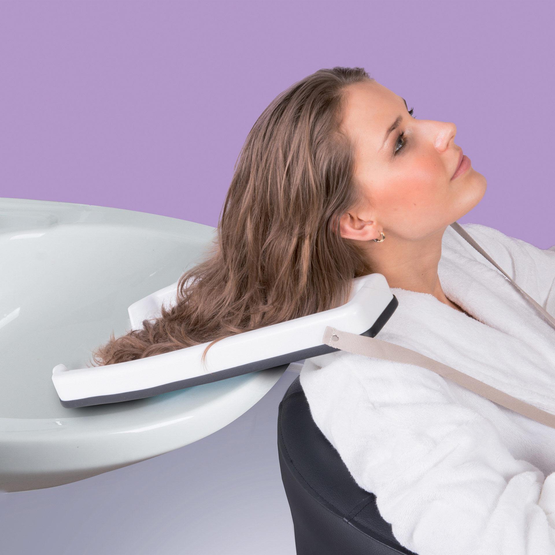 Bac à cheveux pour lavabo, , large