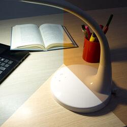 Lampada da tavolo 51 LED con funzione touch, , large