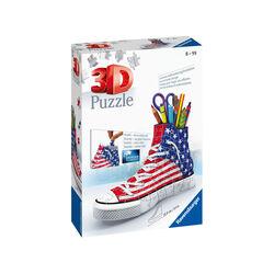 Ravensburger Puzzle 3D Portapenne 12549 - Sneaker Flag, , large