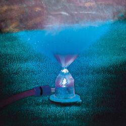 Irrigatore con luce cambia colore, , large