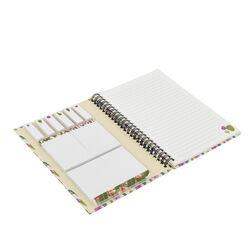Quaderno con spirale, stickers e copertina rigida, , large