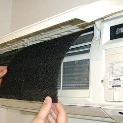 Set 2 filtri purificanti per condizionatore, , large