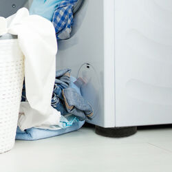 Supporti per lavatrice set da 4 pz, , large
