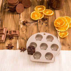 Formina in silicone per ghiaccio e cioccolato Halloween, , large